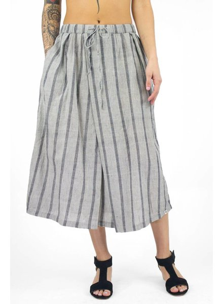 Bsbee River Skirt Grove Stripe