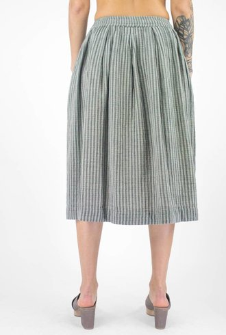 Bsbee Sorana Stripe Skirt Light Grey