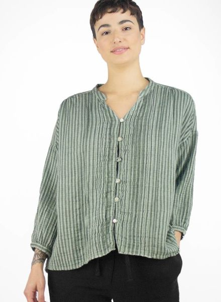 Bsbee Sorana Simillia Shirt Light Grey