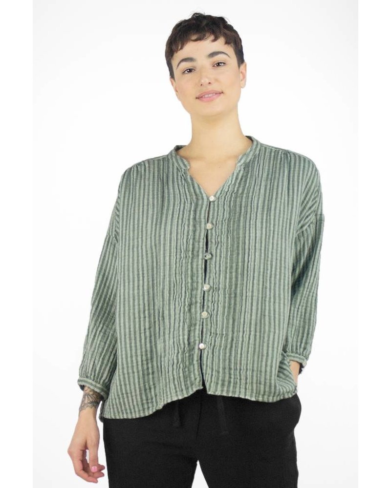 Bsbee Sorana Simillia Shirt Light Grey