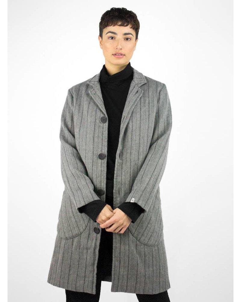 Bsbee Luson Coat Wool Stripe