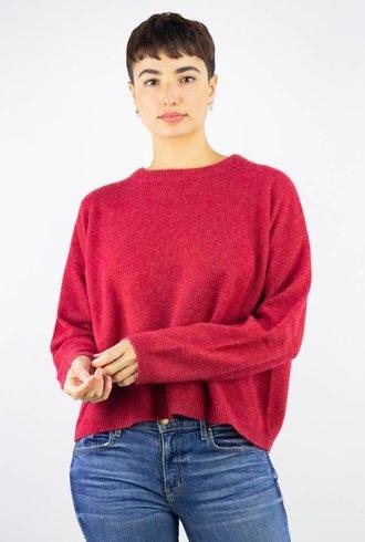 360 Sweater Adina X-Back Pullover Brick