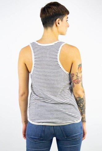 360 Sweater Tanya Stripe Cashmere Tank