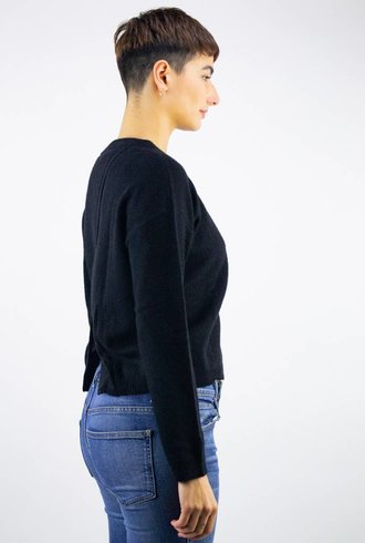 360 Sweater Adina X-Back Pullover Black