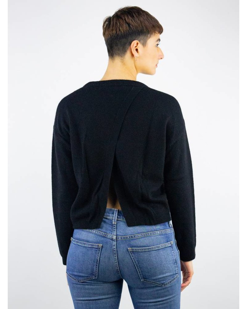 360 Sweater Adina X-Back Pullover Black
