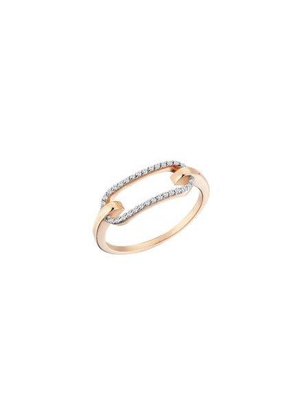 KISMET Equality Bar Ring Rose Gold