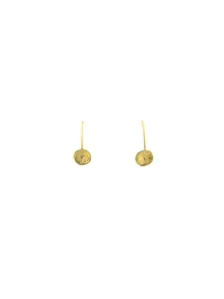 Page Sargisson Astrid Thread Through Earring Gold