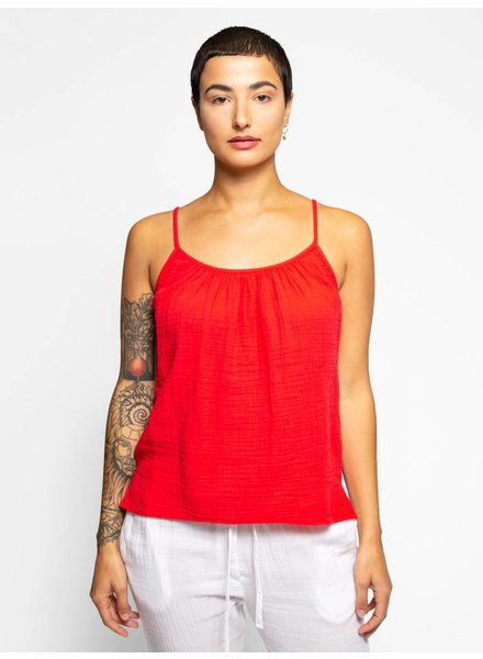 Xirena Charlie Cami Red Hot