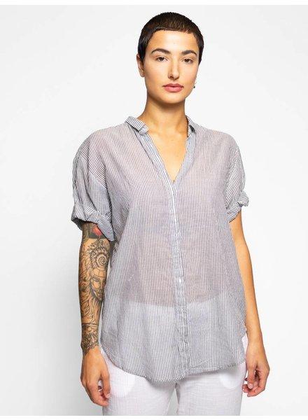 Xirena Channing Lido Cotton Shirt Sandstone