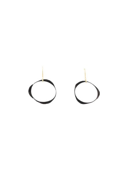 Renee Garvey Small Circle Thin Ear Wire