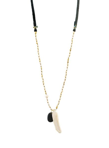 Renee Garvey Fossil Mammoth Necklace
