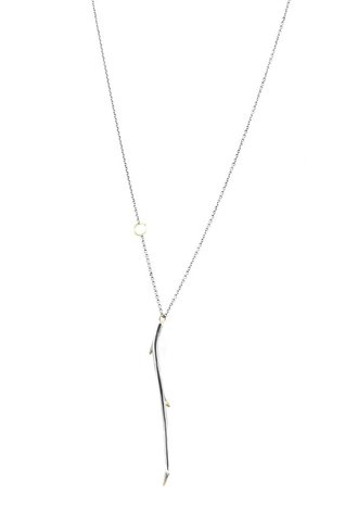 Sarah McGuire Small Gilded Antler Necklace