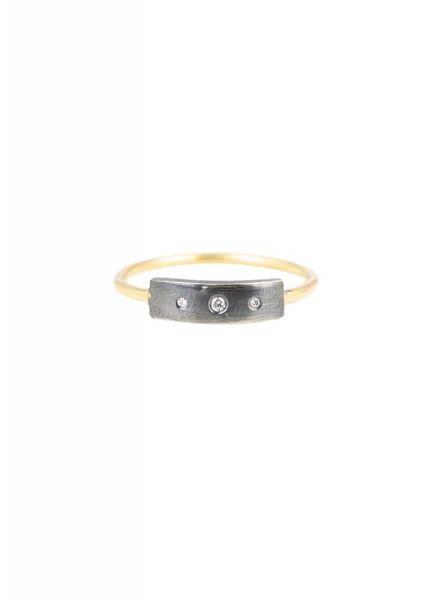 Sarah McGuire Skinny Baguette Ring