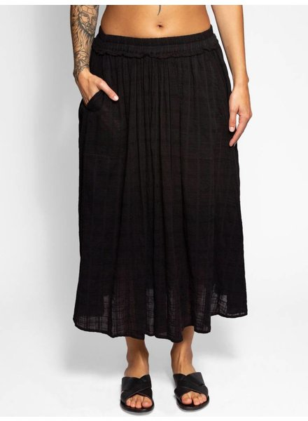 Raquel Allegra Full Skirt Black
