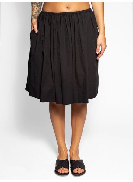 Raquel Allegra Simple Full Skirt Black
