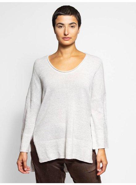 Inhabit Cashmere Linen Pullover Cairn