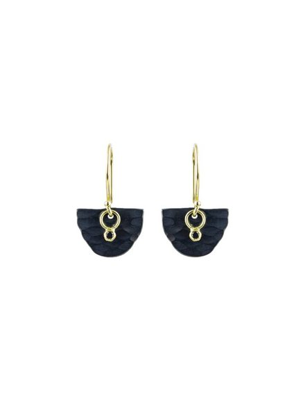 Sarah McGuire Astrid Half Moon Earrings