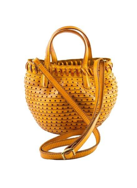 Majo Small Zip Top Bag Yellow