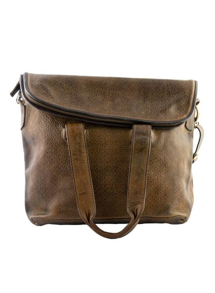 Majo Leather Man's Bag Durmast