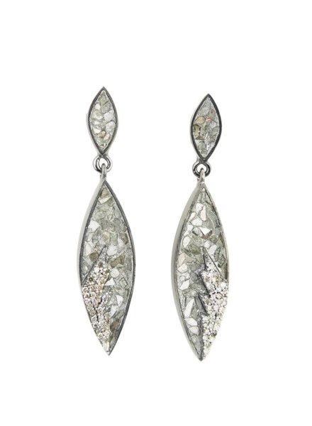 Shana Gulati Tatiana Earrings Silver