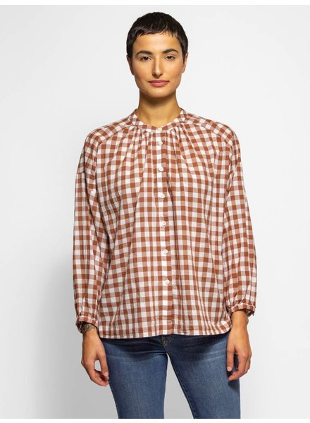 The Great The Handsome Button Up Carob Check