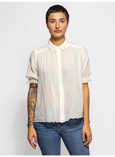 The Great The Kerchief Blouse Cream
