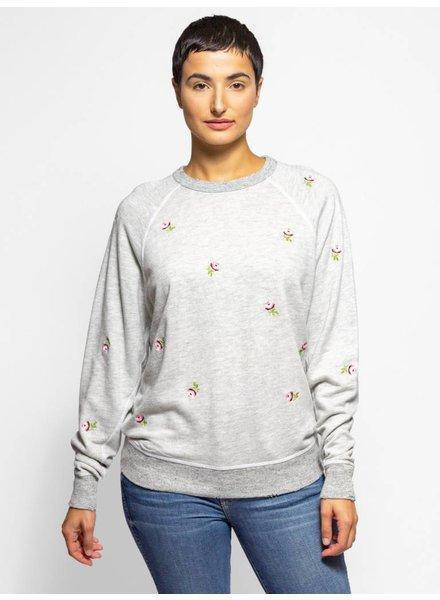 The Great The College Sweatshirt Heather Grey