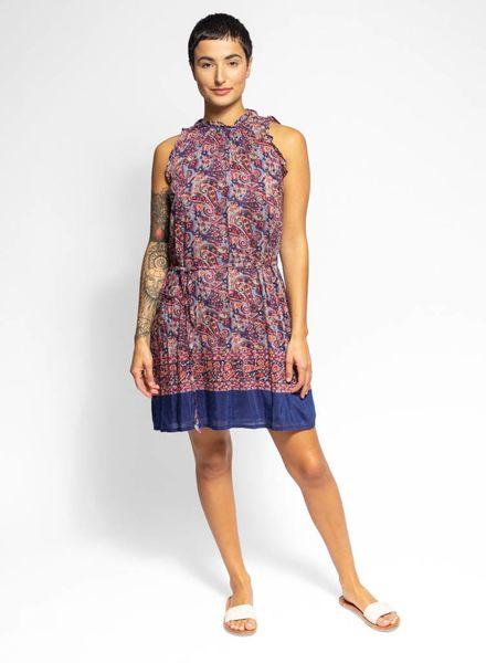 Trovata Olivia High Neck Dress Paisley