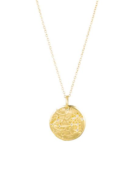 Page Sargisson Leo Constellation Necklace Gold