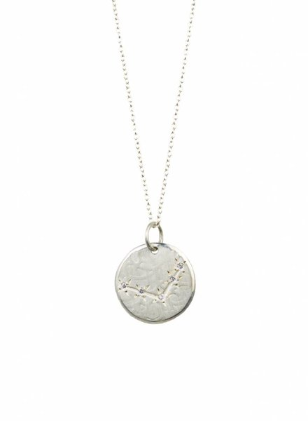 Page Sargisson Libra Constellation Necklace Sterling Silver