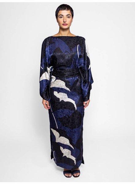 Warm Samurai Dress Midnight