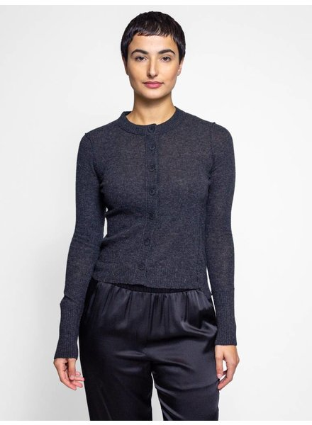 Inhabit Every Day Cardi Charcoal