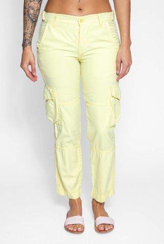 NSF Basquiat Cargo Pants Limon