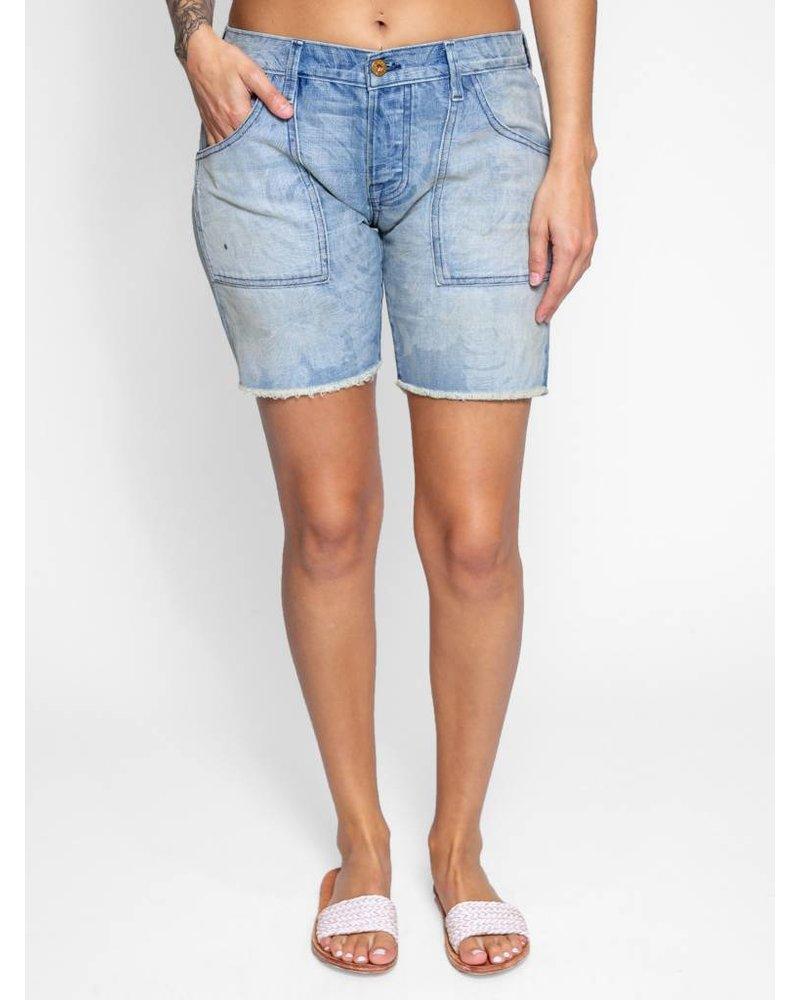 NSF Chrissy Shorts Flora Fade