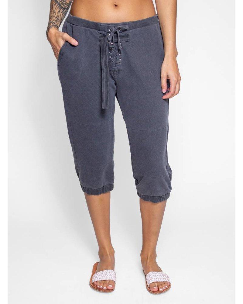 NSF Teddy Pigment Sweatpants Black