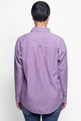 NSF Rhodes Stripe Shirt Pink Fade