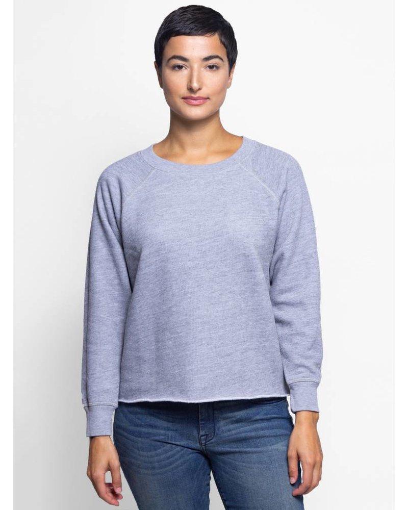 NSF Carolina Long Sleeve Sweatshirt Heather Grey