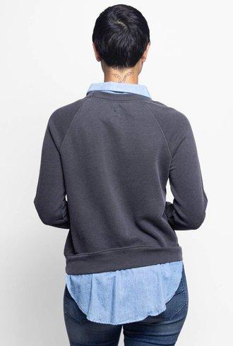 NSF Franny Crew Sweatshirt Black