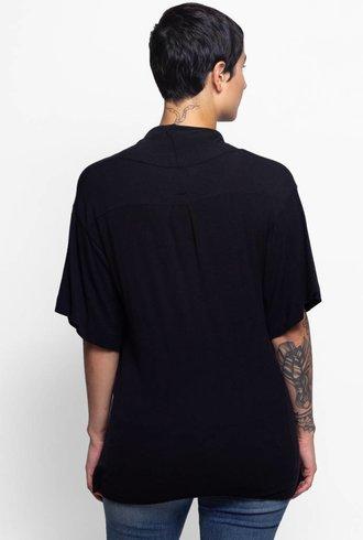 NSF Kimono Shirt Black