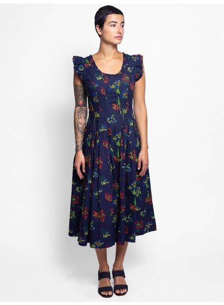 Ulla Johnson Camille Dress Midnight Floral