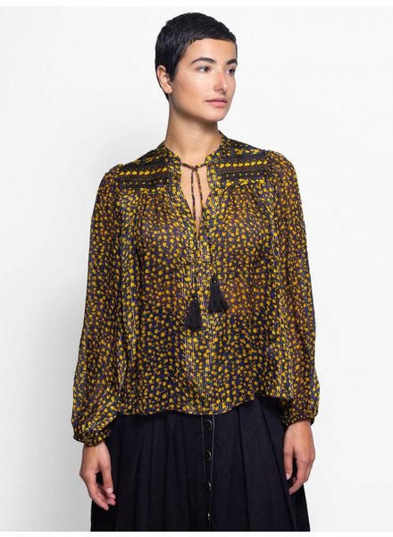 Ulla Johnson Constance Blouse Noir
