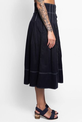 Ulla Johnson Alfred Skirt Noir