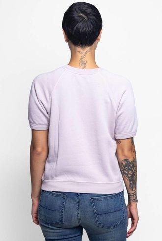 NSF Lucas Short Sleeve Sweatshirt Pink