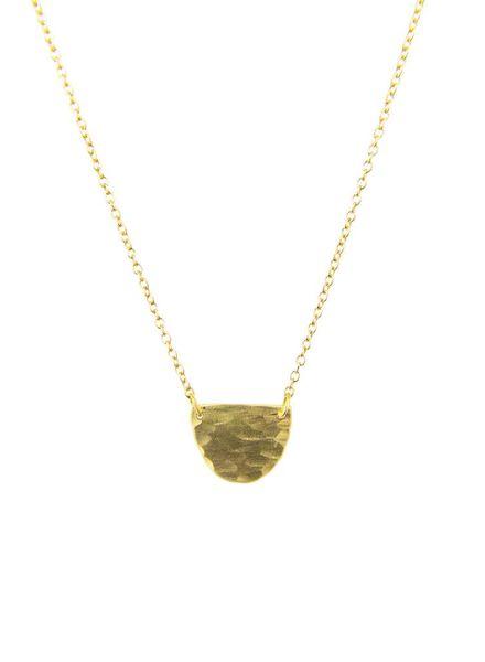 Sarah McGuire Half Moon Necklace