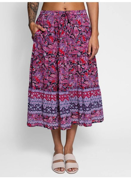 Xirena Kaia Skirt Garnet
