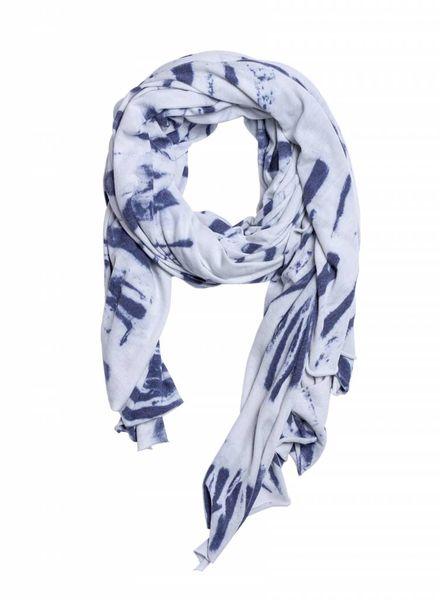 Raquel Allegra Convertible Scarf Blue River Tie Dye