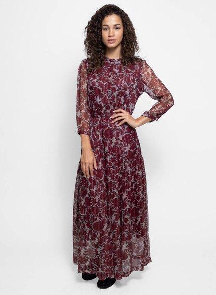 Warm Ladyland Dress Garnet