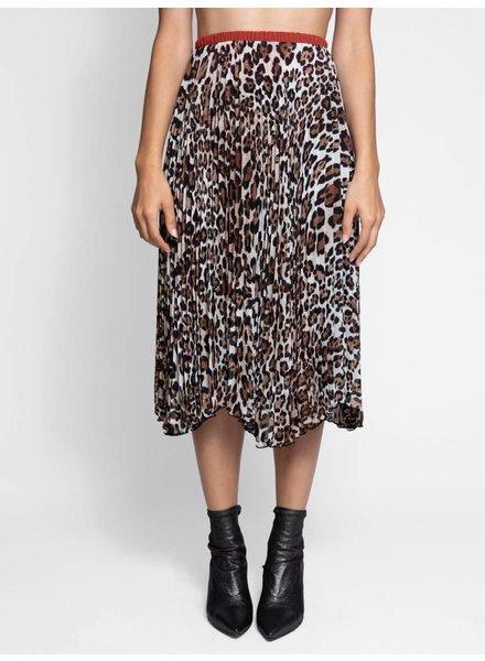 Loyd/Ford Pleated Skirt Leopard
