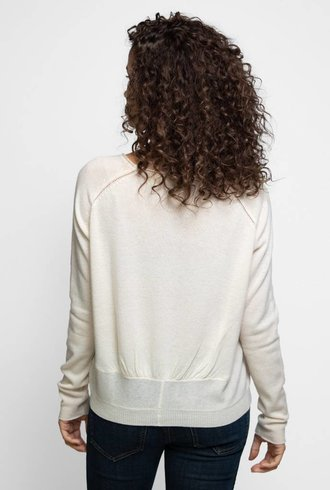 Inhabit Cashmere Luxe Crew Ivory