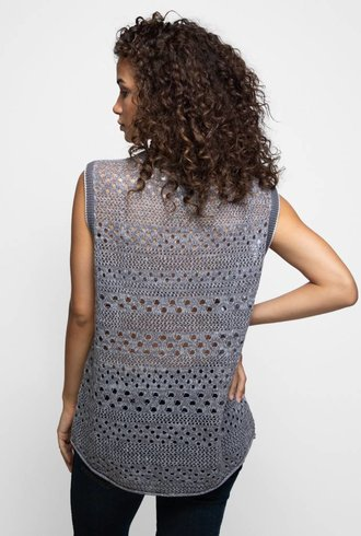 Inhabit Cashmere & Linen Perforated Shell Fuse